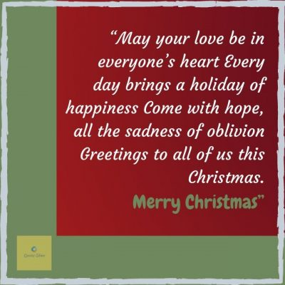 Merry Christmas pic with Christmas quotes