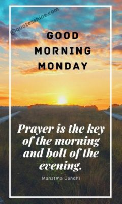 good morning monday motivation