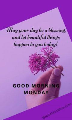 good morning monday blessings